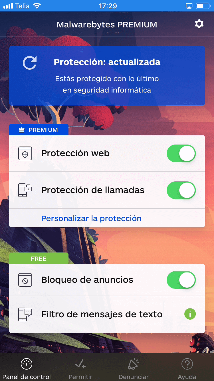 Malwarebytes for iOS - Protects your device and blocks annoying spam